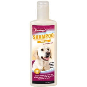 shampoing chien aux oeufs 300ml (FLAMINGO)