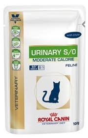 Vdiet cat urinary  sachet fraicheur 100g  x12 (ROYAL CANIN)