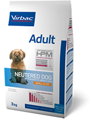 veterinary HPM adulte neutered small & toy 3kg (VIRBAC)