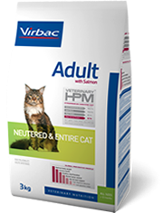 veterinary HPM adulte neutered & entire cat 1.5kg (VIRBAC)