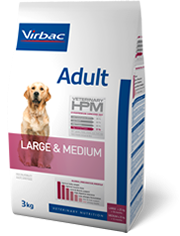veterinary HPM adulte large & medium 7kg (VIRBAC)
