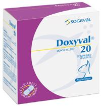 Doxyval  20mg 288cp (SOGEVAL)