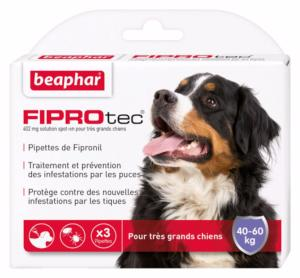 Fiprotec très grand chien 3 pipettes (BEAPHAR)