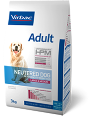 veterinary HPM adulte neutered large & medium 7kg (VIRBAC)
