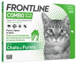 frontline combo spot-on chat 6 p (MERIAL)