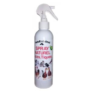 Spray naturel puces tiques 250ml (G.W.)