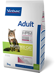 veterinary HPM adulte neutered cat 12kg (VIRBAC)