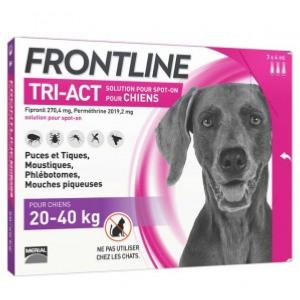 frontline tri-act L 6 pipettes (MERIAL)