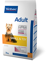 veterinary HPM adulte small & toy 3kg (VIRBAC)